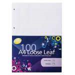 Pukka Pad Wave Range A4 Loose Leaf Paper 100 Sheets