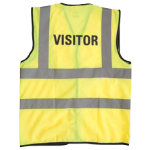 Alexandra Hi vis Visitor vest size M