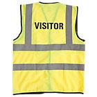 Alexandra Hi vis Visitor vest size XL
