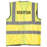 Alexandra Hi vis Visitor vest size XXL