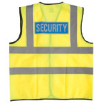 Alexandra Hi vis Security vest size S