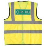 Alexandra Hi vis First Aider vest size S