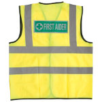 Alexandra Hi vis First Aider vest size M