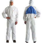 3M Comfort Protective Coverall Type 5 6 Size Large