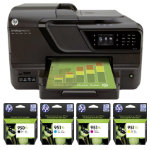 HP Officejet Pro 8600A colour 4 In One printer with full set of Ink Cartridges