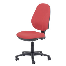 RS togo Jura permanent contact mechanism operator chair in burgundy