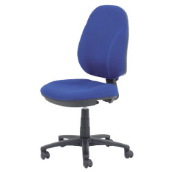 RS togo Jura permanent contact mechanism operator chair in blue