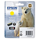 Epson 26XL Original Yellow Ink Cartridge C13T26344010
