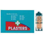 Waterproof Pilfer Proof Plasters 150 pk
