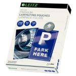 Leitz A4 250 Micron Lamination Pouches Pack 100