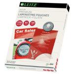 Leitz Lamination Pouches A4 350 2 x 175 Micron Pack 100