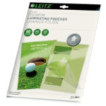 Leitz A4 80 Micron Lamination Pouches Pack 25