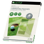 Leitz A4 80 Micron Lamination Pouches Pack 100