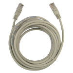 NEWLink LN216 UTP RJ 45 CAT5 Patch Lead Network Cable 5 Metres Grey