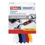 Tesa Cable binder On Off Yellow Red 12 x 200 mm