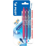 Pilot Frixion Point erasable rollerball pens assorted pack of 3