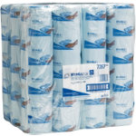 CENTERFEED ROLL SMALL WYPALL L20 WIPERS 1 PLY BLUE 140 SHEETS BOX OF 12