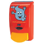 Deb Dispenser Proline Curve Mr Soapy 1000 1Ltr Red