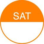 Transworld Products Dot it Food Rotation Label 075 Saturday