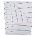 Pack 5 Blue Striped Dishcloths