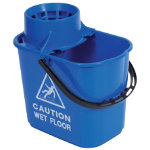 Professional Mop Bucket Blue 15L