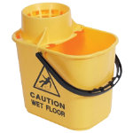 Professional Mop Bucket Yellow 15L