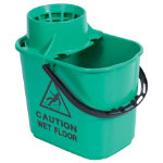 Professional Mop Bucket Green 15L