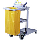 Jolly Trolley Cleaning Cart With Wash Bag