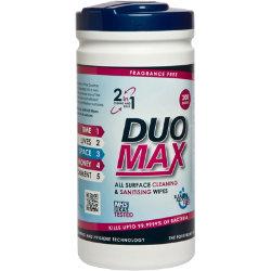 DuoMax Antibacterial Wipes Pack 200