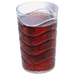 Remmerco wavy plastic drinking cup pack of 48 40cl