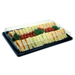 Remmerco Sandwich Platter Small Black 358 x 254 x 15mm