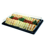 Remmerco Sandwich Platter Large Black 470 x 315 x 15mm