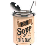Soupercan Soup Warmer Hot Soup Of The Day 51ltr