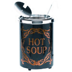 Soupercan Soup Warmer Hot Soup Westminster Black 51ltr