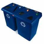 Rubbermaid Glutton Recycling Station