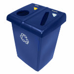 Rubbermaid Half Glutton Recycling Station