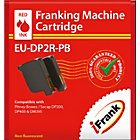Compatible Franking Ink Red Twin Pack For Pitney Bowes Secap DP200 DP400 or DM395 Series