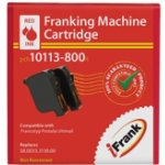 Compatible Franking Ink Red Twin Pack For Francotyp Postalia Ultimail