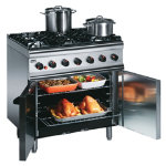 Lincat Silverlink 6 Burner Gas Range