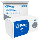 Kleenex Hand Towels 6789 2 ply Pack 15