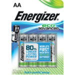 Energizer Batteries Eco Advanced AA Pack 3