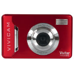 Vivitar V9114 9MP Digital Camera Red