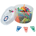 Laurel Plastic Paper Clips pack 200