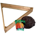 Pyramid planting bed kit