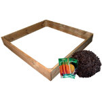 Sqaure raised bed planting kit