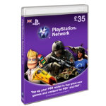 PlayStation Network Card pound35 All Playstation Formats