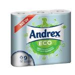 Andrex Eco toilet rolls Pack 9