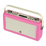 View Quest Portable DAB FM Radio with Bluetooth Hepburn MKII Hot Pink