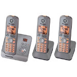 Panasonic KX TG6723 Trio DECT phones with Answer Machine
