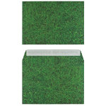 Pack 25 Natural Finish Fresh Mown Grass C5 162X229mm
